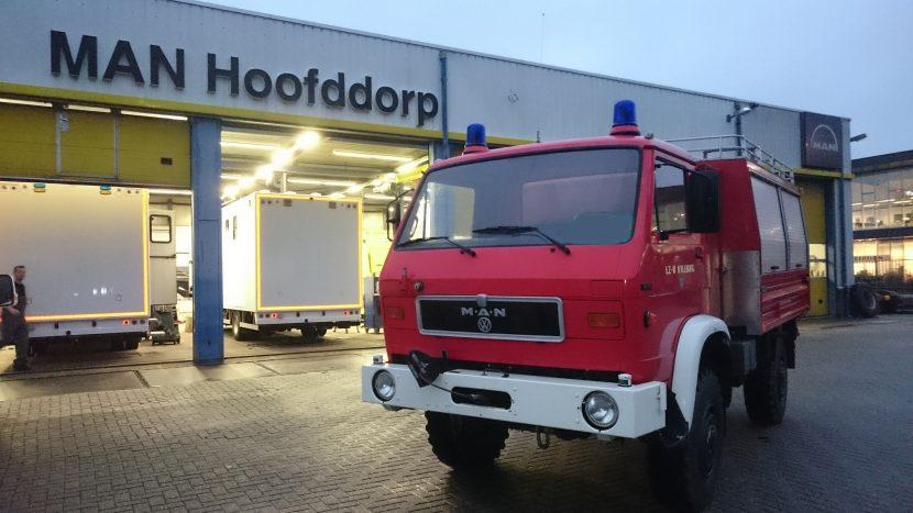 MAN Hoofddorp garage