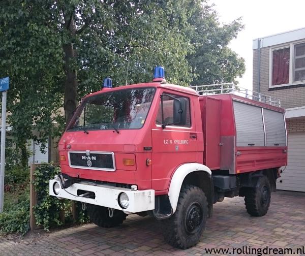 firetruck at home
