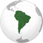 Continent Zuid Amerika