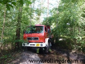 Off-Road testen in Fursten Forest